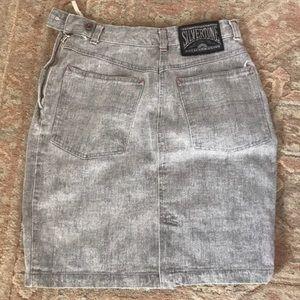 🍭Jean skirt